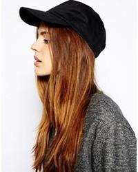 Cappellino con visiera nero di Asos