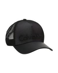 Cappellino con visiera nero di Calvin Klein