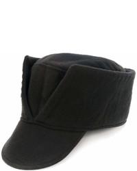 Cappellino con visiera nero