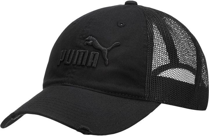 Cappellino con visiera nero di Puma