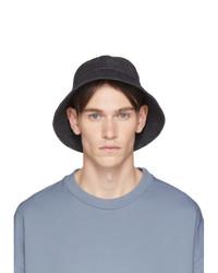Cappello alla pescatora di jeans blu scuro di Jil Sanderand
