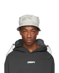 Cappello alla pescatora grigio
