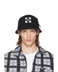 Cappello alla pescatora nero e bianco di Off-White