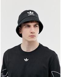 Cappello alla pescatora nero di adidas Originals