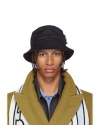 Cappello alla pescatora nero di Burberry