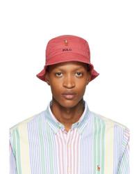 Cappello alla pescatora rosso