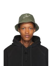 Cappello alla pescatora verde oliva di Greg Lauren