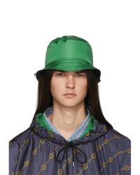 Cappello alla pescatora verde di Gucci