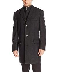 Come indossare un cappotto a spina di pesce grigio scuro (50 foto ... ae7b7fc308d