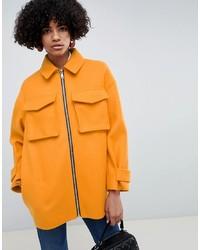 Cappotto arancione di ASOS DESIGN