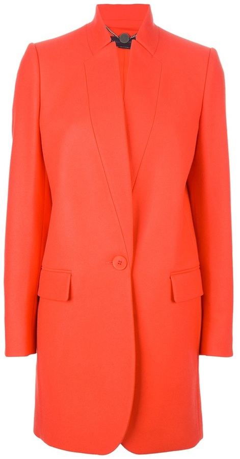 Cappotto arancione di Stella McCartney