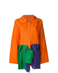 Cappotto arancione di Jc De Castelbajac Vintage