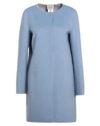 Cappotto azzurro di Armani Collezioni