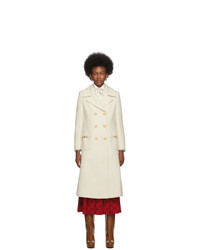 Cappotto beige di Gucci