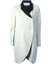Cappotto bianco e nero