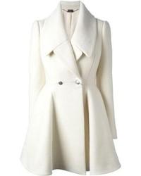 73ef5cbddebd21 Cappotti bianchi da donna di Alexander McQueen | Moda donna | Lookastic