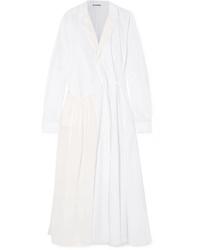 Cappotto bianco di Jil Sander