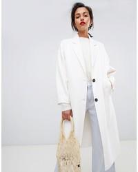 Cappotto bianco di Mango