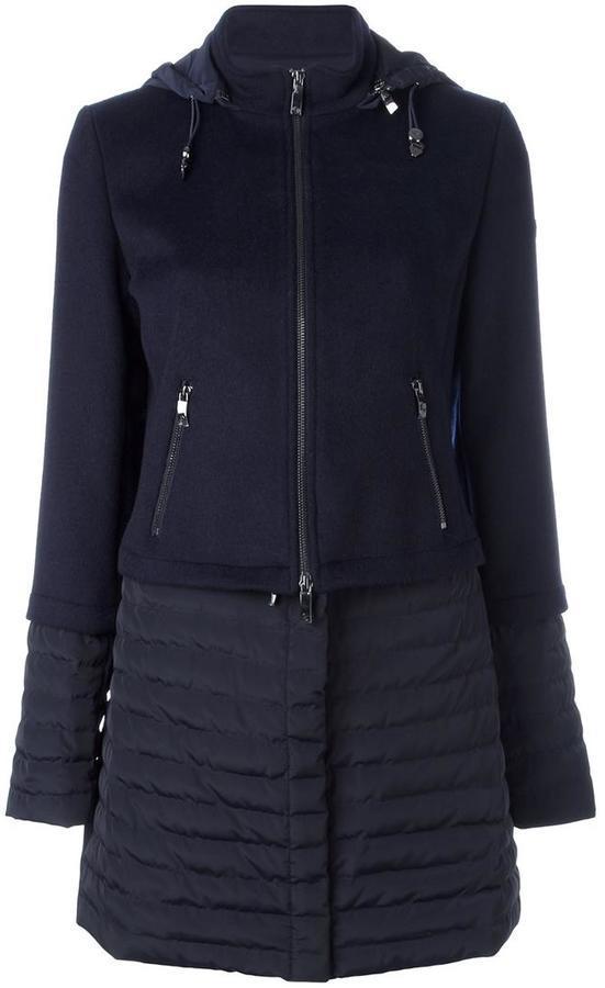 Cappotto blu scuro di Armani Jeans