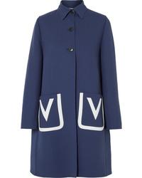 Cappotto blu scuro di Valentino