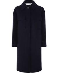 Cappotto blu scuro di Victoria Victoria Beckham
