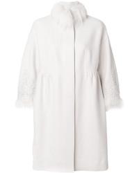 046357a0727315 ... Dolce & Gabbana Vintage €1,491 Spedizione gratuita · Cappotto con collo  di pelliccia bianco di Ermanno Scervino