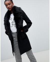 online retailer 3dca3 bf15c Cappotti con collo di pelliccia da donna su Asos | Moda ...