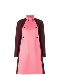 Cappotto decorato rosa di Valentino
