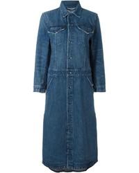 Cappotto di jeans blu scuro di Helmut Lang
