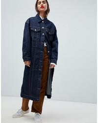 Cappotto di jeans blu scuro di Levi's