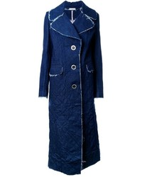 Cappotto di jeans blu di Natasha Zinko