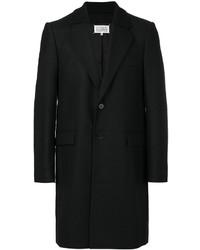 Cappotto di lana nero di Maison Margiela