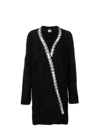 Cappotto di pile nero