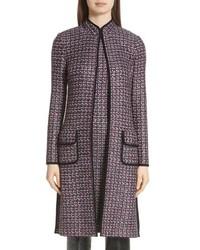 Cappotto di tweed grigio scuro