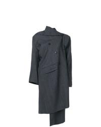 Cappotto grigio scuro di Balenciaga