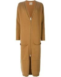 Cappotto lavorato a maglia marrone chiaro di Libertine-Libertine
