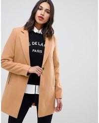 Cappotto marrone chiaro di ASOS DESIGN