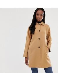 Cappotto marrone chiaro di Asos Tall