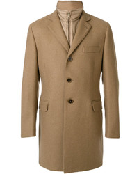 Cappotto marrone chiaro di Fay
