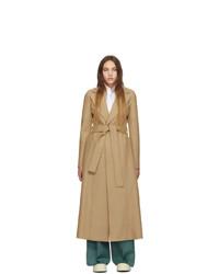 Cappotto marrone chiaro di Harris Wharf London