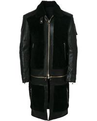 Cappotto nero di Balmain