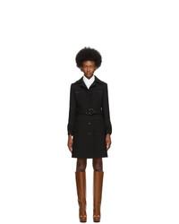 Cappotto nero di Gucci