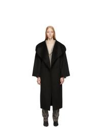 Cappotto nero di Totême