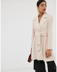 Cappotto rosa di ASOS DESIGN