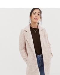 Cappotto rosa di Asos Petite