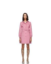 Cappotto rosa di Gucci