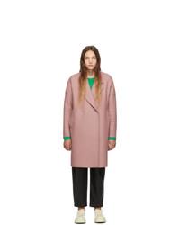 Cappotto rosa di Harris Wharf London
