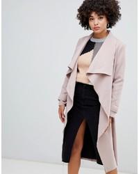Cappotto rosa di Missguided