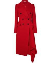 Cappotto rosso di Alexander McQueen
