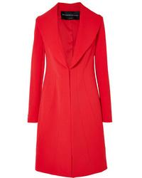 Cappotto rosso di Brandon Maxwell